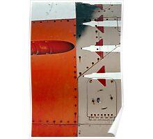 Orange Panel Poster