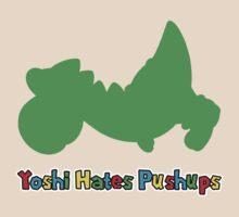 Yoshi Hates Pushups by vestigator