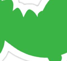 Yoshi Hates Pushups Sticker