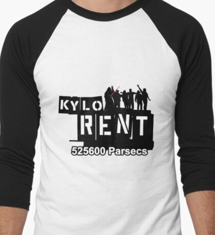 Kylo Rent Men's Baseball ¾ T-Shirt
