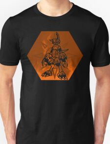 Flamedramon The Fire Of Courage T-Shirt