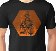 Flamedramon The Fire Of Courage Unisex T-Shirt