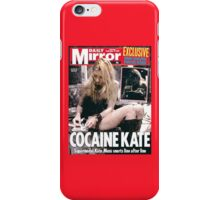 Cocaine Kate Moss iPhone Case/Skin