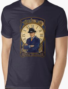 Inspector Spacetime Nouveau Mens V-Neck T-Shirt