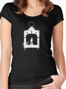 The Railroad Women's Fitted Scoop T-Shirt