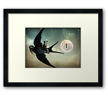 Keep your Secrets Framed Print