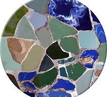 Gaudi Mosaics by Silvia Neto