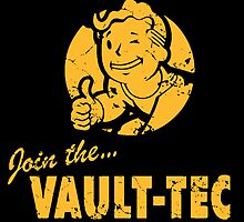 Join the Vault-Tec / Fallout by Flibidi