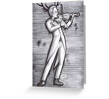 Hannibal - Violin Greeting Card