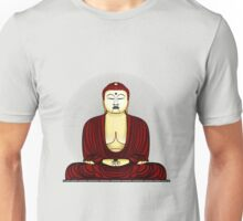 Buddha in praying Unisex T-Shirt