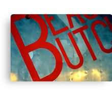 Beauty Butch Canvas Print