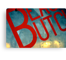 Beauty Butch Canvas Print