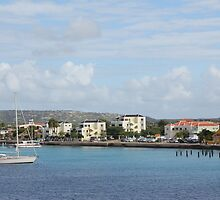 Bonaire Kralendijk Harbor Sailing Boats by stine1