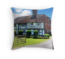 Old Kent Cottage Throw Pillow