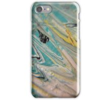 Abstract macro painting for phone case iPhone Case/Skin
