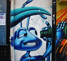 ANTZ (Eric Darnell & Tim Johnson,1998) by StreetArtCinema