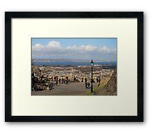 View from Edinburgh Castle over Edinburgh Framed Print
