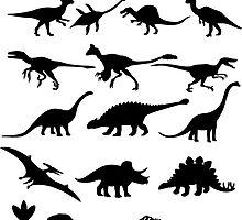 Dinosaur Selection by sweetsixty