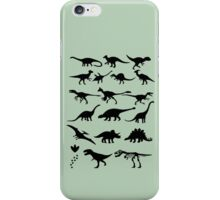 Dinosaur Selection iPhone Case/Skin