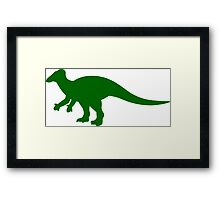 Iguanadon Dinosaur Framed Print