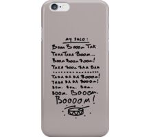 Cheat Sheet for drummers iPhone Case/Skin