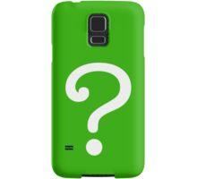 Question Mark - style 3 Samsung Galaxy Case/Skin