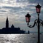 Venice in backlight by annalisa bianchetti