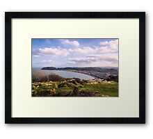 View from Pen Dinas on top of Great Orme Framed Print