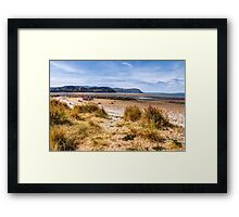 Llandudno West Shore Beach Framed Print