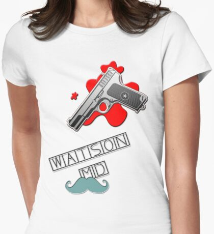 Watson MD Womens Fitted T-Shirt