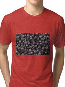 Blueberries Tri-blend T-Shirt