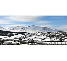 The mourne mountains. Photographic Print