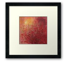Nature's love song... Framed Print