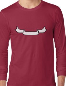 Ribbon Banner Long Sleeve T-Shirt