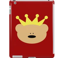 Teddy Bear with royal crown iPad Case/Skin