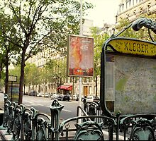 Paris, Metro Station Kleber by Franz Roth