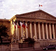 Paris, Assemblée Nationale by Franz Roth