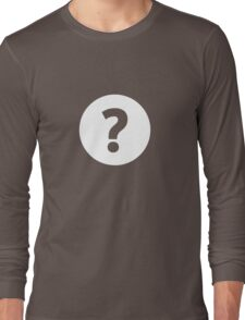 Question Mark - style 4 Long Sleeve T-Shirt