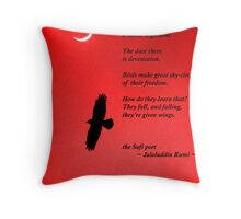 New Moon for Rowena Throw Pillow