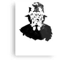 Watchmen - Rorschach Stain Metal Print