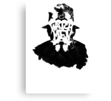 Watchmen - Rorschach Stain Canvas Print