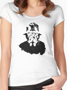 Watchmen - Rorschach Stain Women's Fitted Scoop T-Shirt