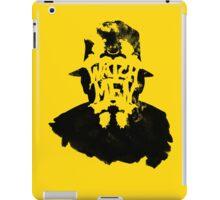 Watchmen - Rorschach Stain iPad Case/Skin