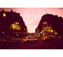 Paris, France, Early Morning Light Photographic Print