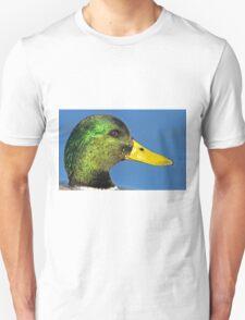 Mallard head shot Unisex T-Shirt