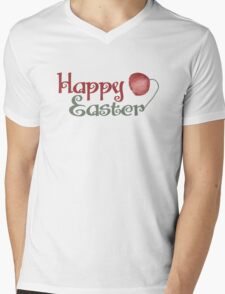 Happy Easter Mens V-Neck T-Shirt