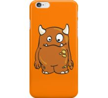 Cool orange Monster iPhone Case/Skin