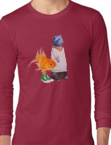 The Amazing World of Gumball in real life Long Sleeve T-Shirt