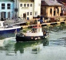 Weymouth harbour, Dorset, UK by buttonpresser