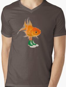 Darwin in real life - The Amazing World of Gumball Mens V-Neck T-Shirt